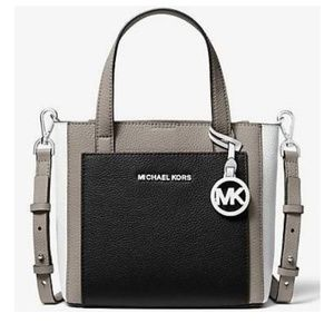 Michael Kors Small Gemma Colorblock Leather Crossb